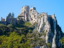 Photo paysage et monuments, Sisteron - Sisteron (04) - La citadelle
