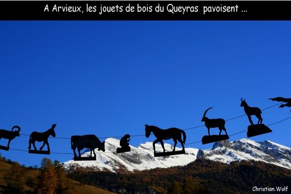 """Photo Arvieux - Au pied de l'izoard ... ARVIEUX, ça sent le """"Pin Cembro""""!"""