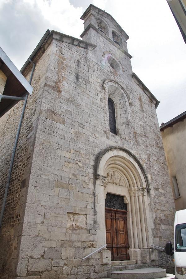 Photo Aspres-sur-Buëch - église Saint Geraud