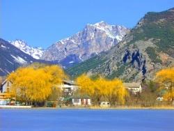 Photo paysage et monuments, Briançon - Briançon - lac gelé