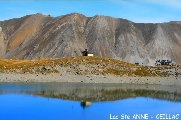 Dans le silence du Lac St Anne ...