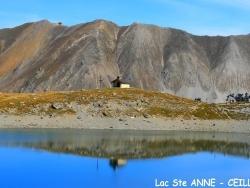 Photo paysage et monuments, Ceillac - Dans le silence du Lac St Anne ...