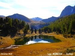 Photo paysage et monuments, Ceillac - Un matin dans le Queyras ...le Lac Miroir en septembre