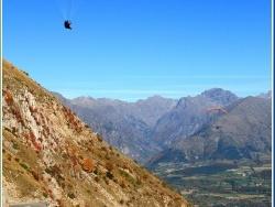 Photo paysage et monuments, Le Noyer - Vol au dessus du Col du Noyer.