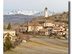 Photo paysage et monuments, Rambaud - Rambaud et son clocher.
