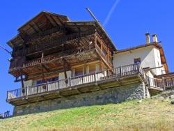 Photo paysage et monuments, Saint-Crépin - Saint Véran 2040 m - Maison traditionnelle