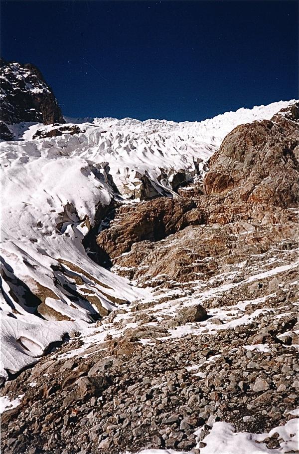 Photo Vallouise - Le glacier blanc