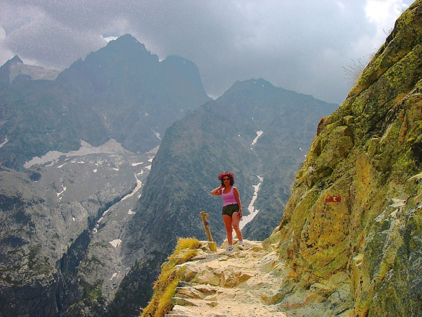 Photo Vallouise - Sur le chemin du glacier blanc.