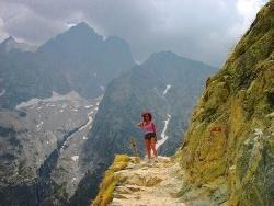 Photo paysage et monuments, Vallouise - Sur le chemin du glacier blanc.