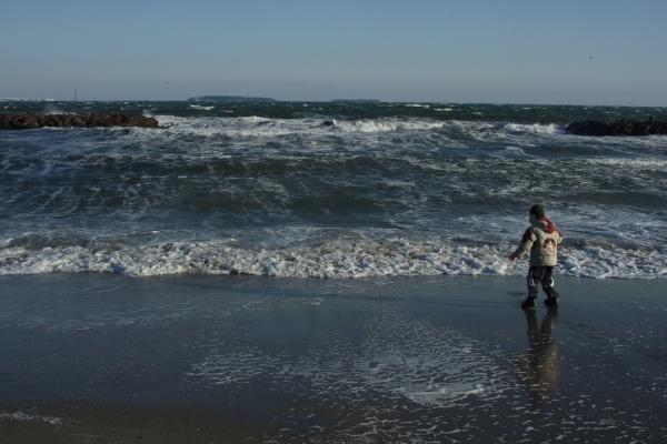 Photo Mandelieu-la-Napoule - La mer est de mauvaise humeur