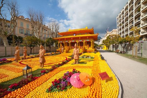 Photo Menton - la fêtes du citron menton