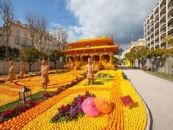 Photo paysage et monuments, Menton - la fêtes du citron menton