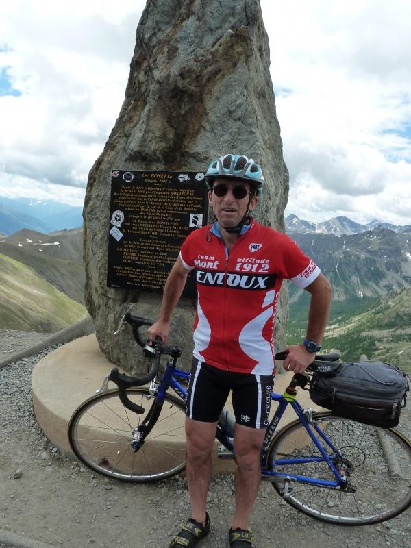 Cime de la Bonette, à vélo