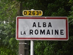 Photo paysage et monuments, Alba-la-Romaine - alba la romaine (07400)