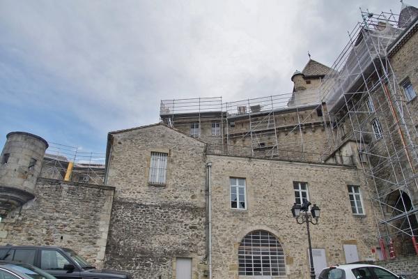 Photo Aubenas - le château