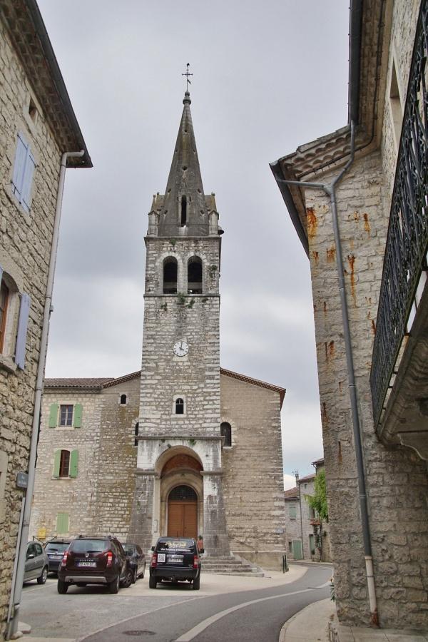 Photo Berrias-et-Casteljau - église Saint Jean Baptiste