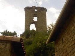 Photo paysage et monuments, Châteauneuf-de-Vernoux - Le chateau 2