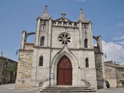 Photo paysage et monuments, Lachapelle-sous-Aubenas - église Notre Dame