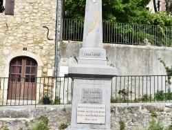 Photo paysage et monuments, Lagorce - le Monument Aux Morts