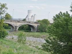 Photo paysage et monuments, Meysse - le Pont