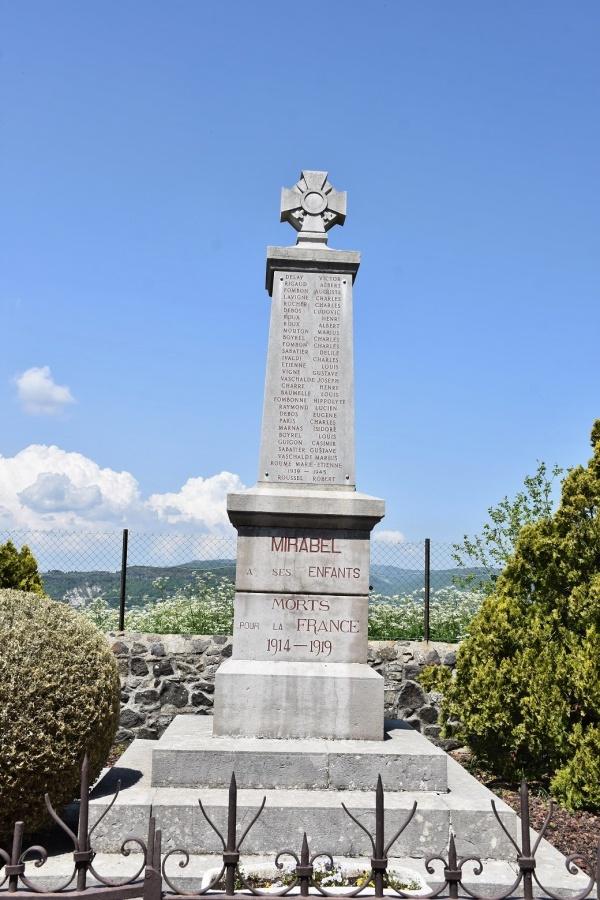 Photo Mirabel - le Monument Aux Morts