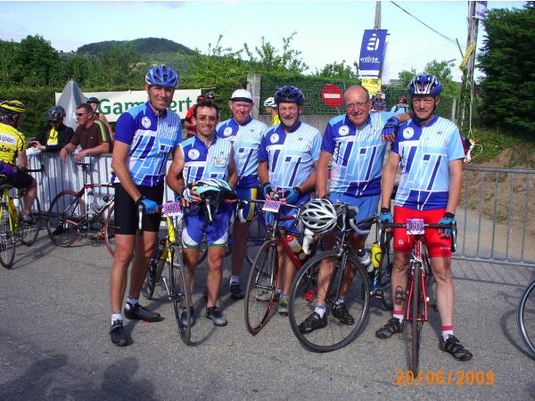 Ardéchoise 2009 regroupement col du Buisson