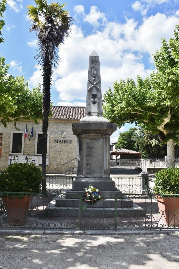 Photo Saint-Alban-Auriolles - le Monument Aux Morts