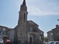 Photo paysage et monuments, Saint-Jean-le-Centenier - église Saint Jean Baptiste