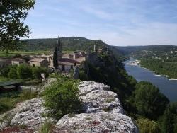Photo paysage et monuments, Saint-Martin-d'Ardèche - Aiguèze
