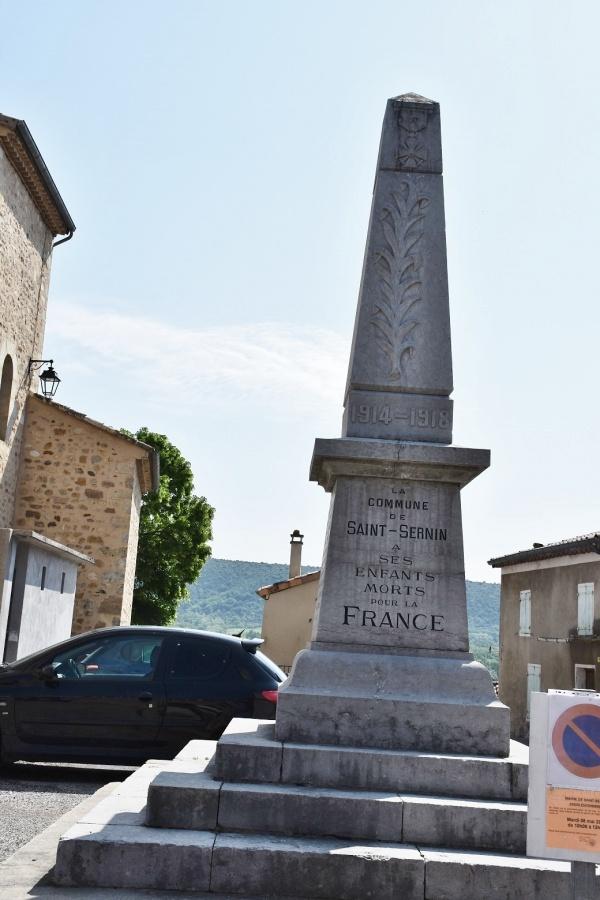 Photo Saint-Sernin - le Monument Aux Morts