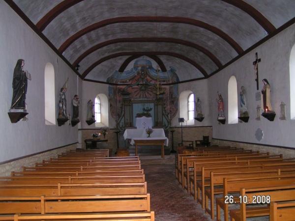 eglise de girondelle (interieur)