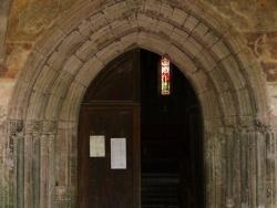 Photo paysage et monuments, Audressein - Notre-Dame de Tramesaygues - Portail d'entrée