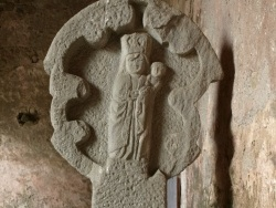 Photo paysage et monuments, Audressein - Notre-Dame de Tramesaygues - Croix du XIVe s.