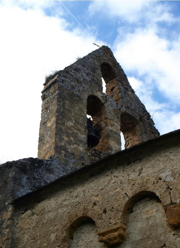 Photo Les Bordes-sur-Lez - Chapelle Notre-Dame d'Aulignac - Clocher