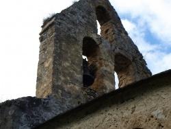 Photo paysage et monuments, Les Bordes-sur-Lez - Chapelle Notre-Dame d'Aulignac - Clocher