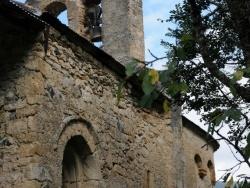 Photo paysage et monuments, Les Bordes-sur-Lez - Chapelle Notre-Dame d'Aulignac - Pote sud