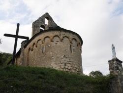 Photo paysage et monuments, Les Bordes-sur-Lez - Chapelle Notre-Dame d'Aulignac - Chevet