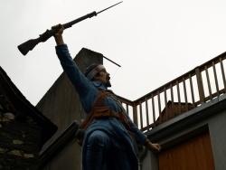 Photo paysage et monuments, Galey - Galey - Monument aux Morts -détail
