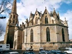 Photo paysage et monuments, Mirepoix - Ancienne cathédrale Saint-Maurice