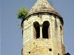 Photo paysage et monuments, Moulis - Église  Notre-Dame de l'Assomption - petit clocher-tour