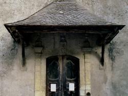 Photo paysage et monuments, Moulis - Le Pouech de Moulis - Église Saint Jean-Baptiste - Portail