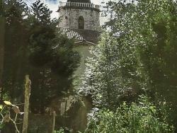 Photo paysage et monuments, Sainte-Croix-Volvestre - eglise