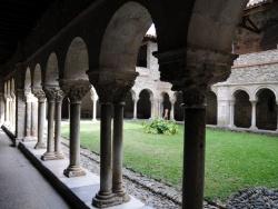 Photo paysage et monuments, Saint-Lizier - Cloître - Galerie nord