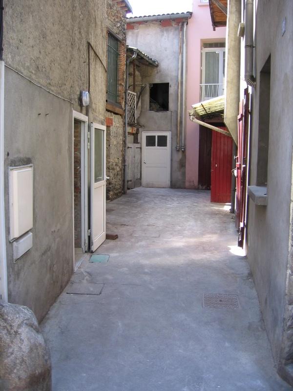 La ruelle où avec Annie, Pierre et Frédéric on jouait souvent.