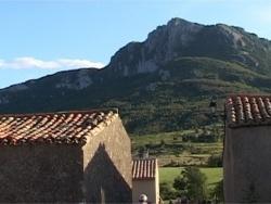 Photo paysage et monuments, Bugarach - Le pic de BUGARACH VU DU LINAS