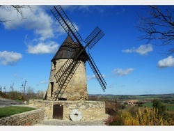 Photo paysage et monuments, Castelnaudary - Le moulin