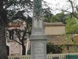 Photo paysage et monuments, Fitou - le monument aux morts