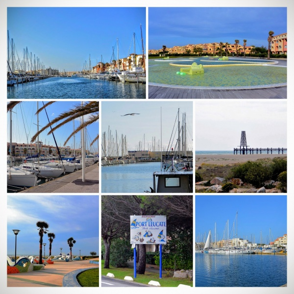 Photo Leucate - Port-Leucate. Montage photos.