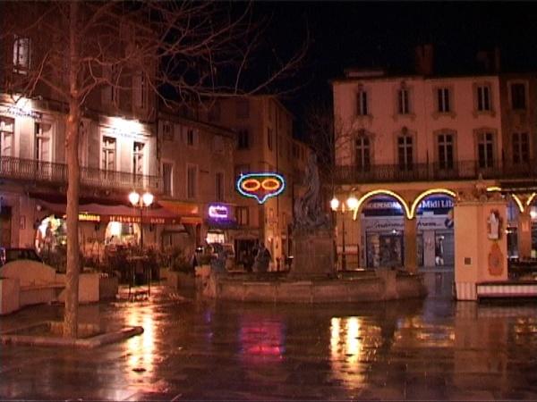 Photo Limoux - la place de la République