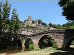 Photo paysage et monuments, Belcastel - Belcastel le village